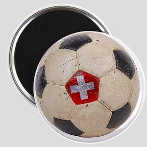 Switzerland Football4 Magnet