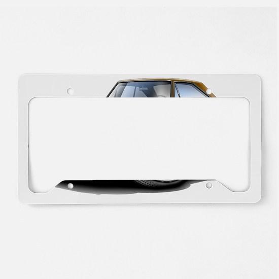 1967 Coronet RT Brown Car License Plate Holder