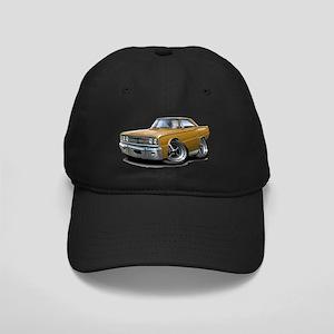 1967 Coronet RT Gold Car Black Cap