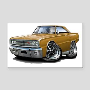 1967 Coronet RT Gold Car Rectangle Car Magnet