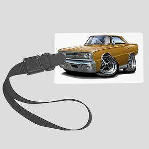 1967 Coronet RT Gold Car Large Luggage Tag