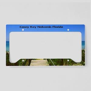 Casey Key License Plate Holder