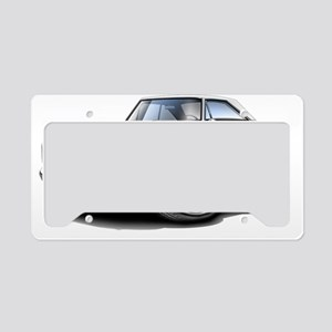 1967 Coronet RT White Car License Plate Holder