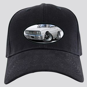 1967 Coronet RT White Car Black Cap
