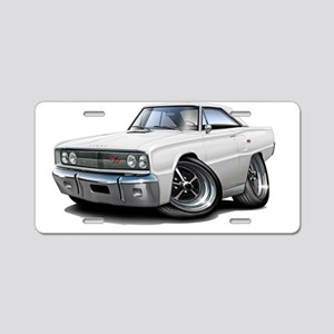 1967 Coronet RT White Car Aluminum License Plate