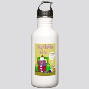 sister birthday lady k Stainless Water Bottle 1.0L