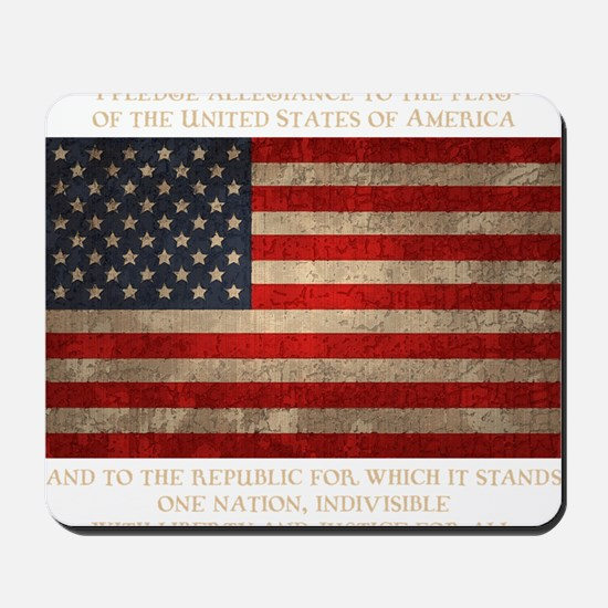 flag-pledge-DKT Mousepad