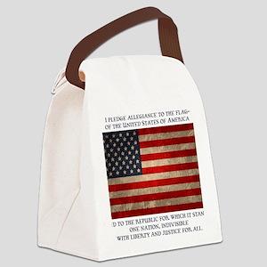 flag-pledge-LTT Canvas Lunch Bag