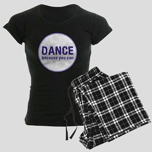 Dance_circle Women's Dark Pajamas