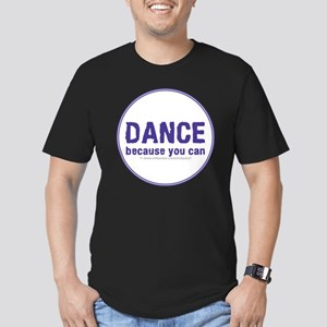 Dance_circle Men's Fitted T-Shirt (dark)