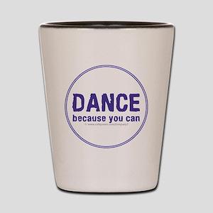 Dance_circle Shot Glass