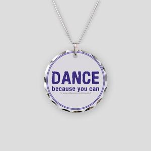 Dance_circle Necklace Circle Charm