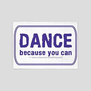 Dance_rect_stick_LG 5'x7'Area Rug