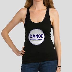 Dance_circle Racerback Tank Top