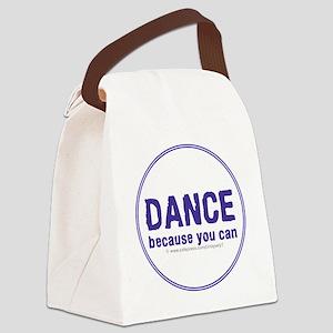Dance_circle Canvas Lunch Bag