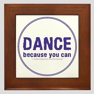 Dance_circle Framed Tile