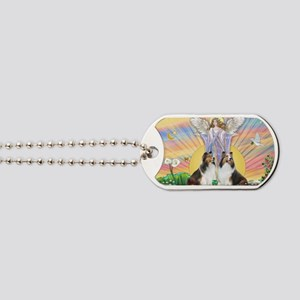 Blessings - Two Shelties Dog Tags