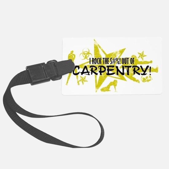 CARPENTRY Luggage Tag