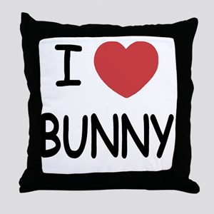 BUNNY01 Throw Pillow