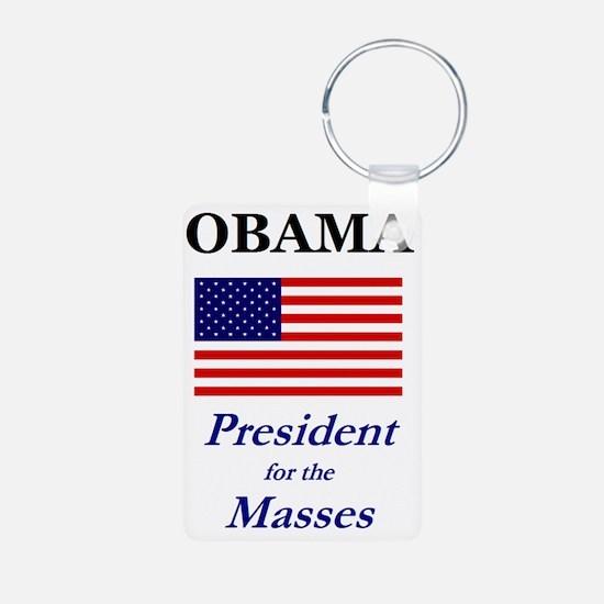 obama_masses Keychains