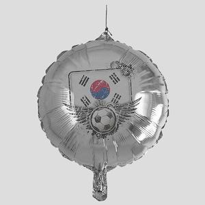 Soccer fan South Korea Mylar Balloon