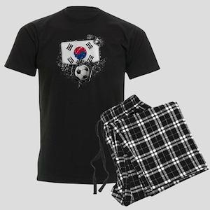 Soccer fan South Korea Men's Dark Pajamas