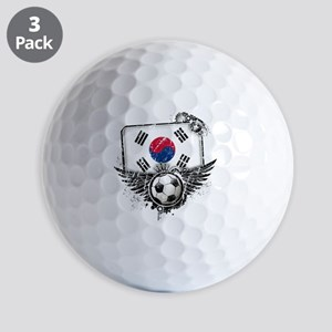 Soccer fan South Korea Golf Balls