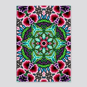 CP_bloom_poster1 5'x7'Area Rug