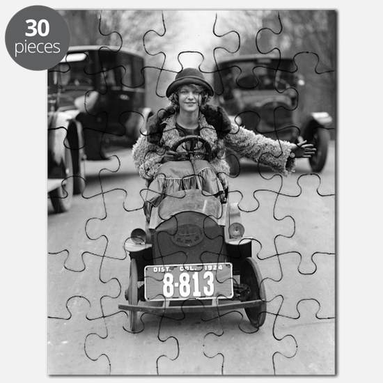 Flapper Driving Pedal Car Puzzle