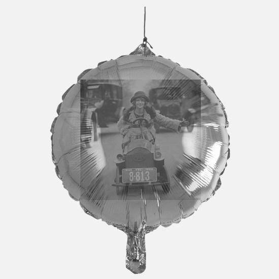 Flapper Driving Pedal Car Balloon