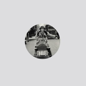 Flapper Driving Pedal Car Mini Button