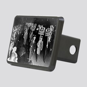 We Want Beer! Prohibition  Rectangular Hitch Cover