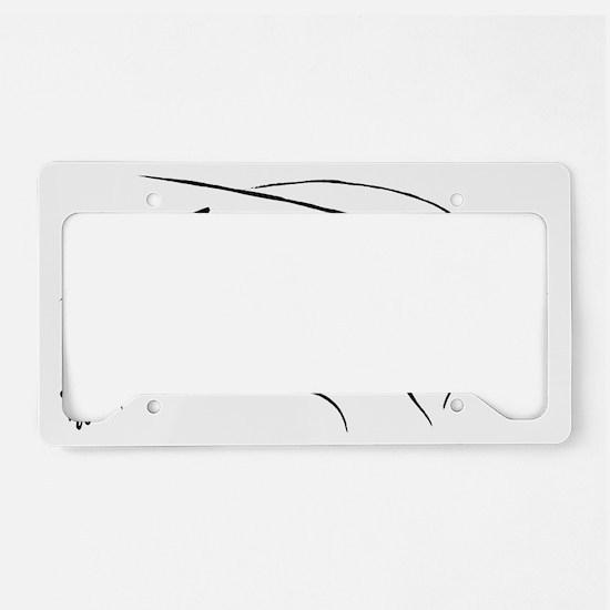 LINE TRACKING signtra License Plate Holder