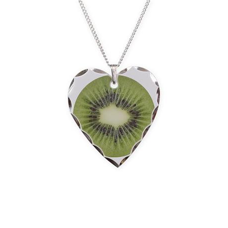 kiwi2 Necklace Heart Charm