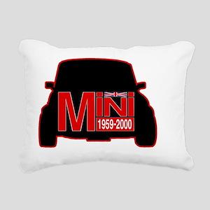 mini outline Rectangular Canvas Pillow