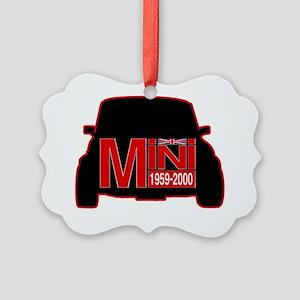 mini outline Picture Ornament