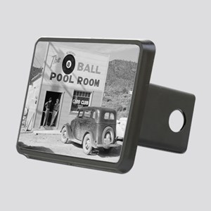 The Eight Ball Pool Room Rectangular Hitch Cover