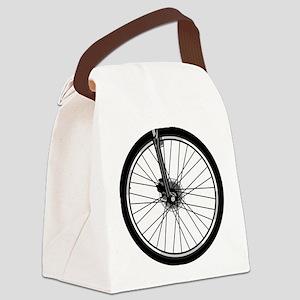 bikewheel Canvas Lunch Bag
