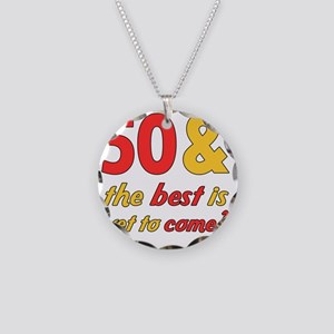 best50 Necklace Circle Charm