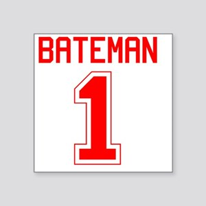 "Bateman1 Square Sticker 3"" x 3"""