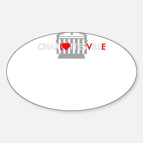 LOVE CHARLOTTEVILLE - WE ARE TOGETHER Decal