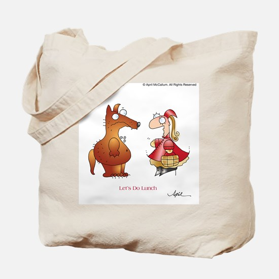 LETS DO LUNCH! Tote Bag