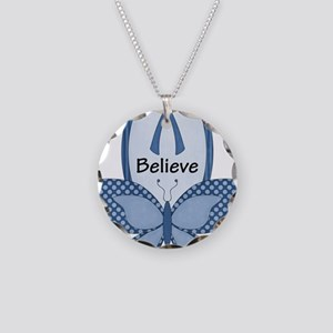 dws-cc-awarenessribbonsblue1 Necklace Circle Charm