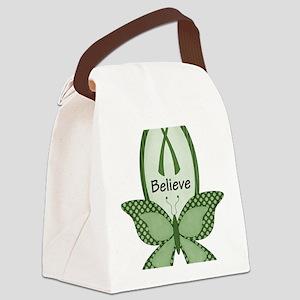 dws-cc-awarenessribbonsgreen1-6 Canvas Lunch Bag