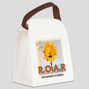 roar Canvas Lunch Bag