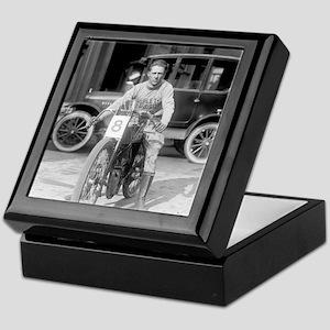 Harley-Davidson Motorcycle Racer Keepsake Box