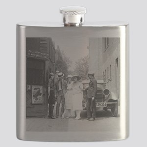 The Krazy Kat Speakeasy Flask