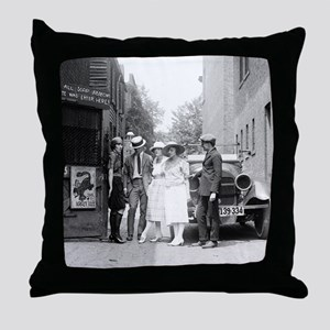 The Krazy Kat Speakeasy Throw Pillow
