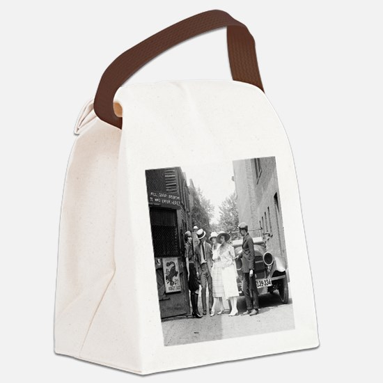 The Krazy Kat Speakeasy Canvas Lunch Bag