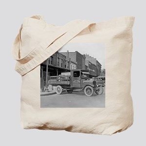 Poultry Delivery Truck Tote Bag